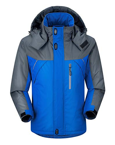 Uomo Uomo Blu Cappotto Nero Colore Colore Impermeabile L Dimensione da Outwear 4wqwtnZvT