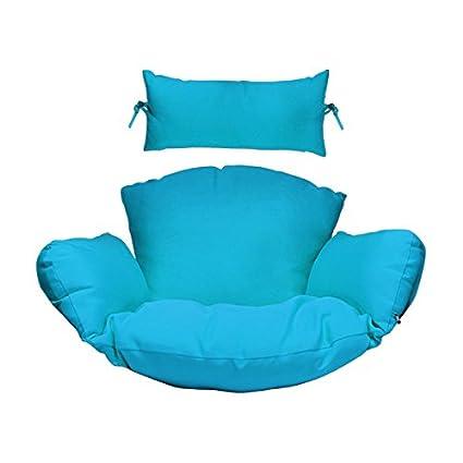 Amazon.com: Juego de cojines para silla colgante con ...