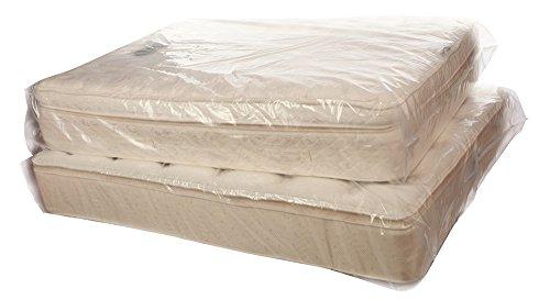 4 Mil Poly – Cubre colchón almohada Top – x-queen 62 x 18 x