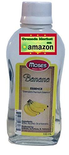 Banana Essence (BANANA Essence - MOSES (100ml), product of Grenada, Caribbean)
