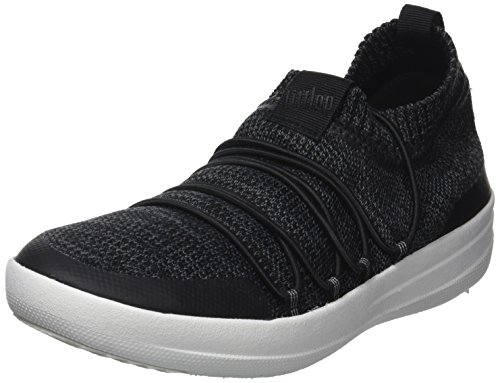 Black Soft Donna Sneakers Sneaker Uberknit Multicolore Collo 546 Slip Alto on Grey a Fitflop Ghillie TSBgRTP