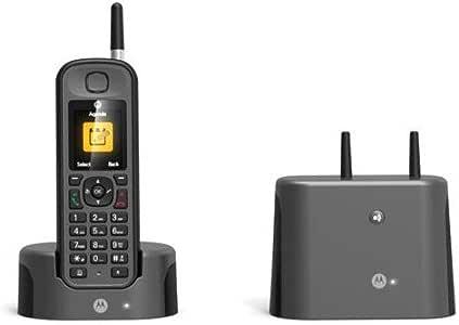 Motorola MOT31O201N - Teléfono inalámbrico DECT, Color Negro: Amazon.es: Electrónica