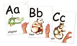 "ABC Phonics: Sing, Sign, and Read!"" A to Z - ASL Wall Posters (26 posters per set)"