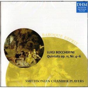 Boccherini: String Quintets, Op. 11, Nos. 4-6