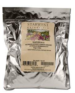 Starwest Botanicals organiques - poudre de racine d'astragale par BOTANICALS Starwest