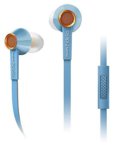 Philips Japan Fidelio S2lb with mic  Light blue