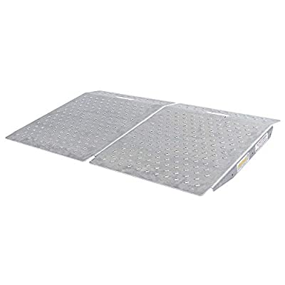 Guardian SR-01-24-24-P-TS6-2 Shed Ramps with Punch Plate Surface - 2 Pack
