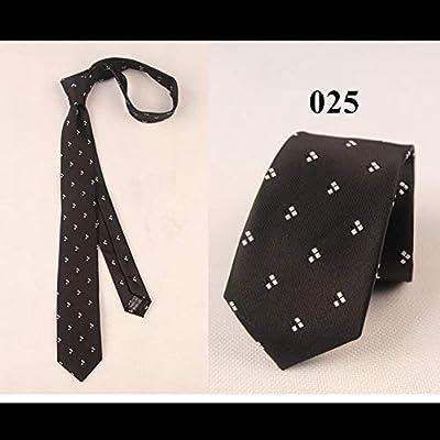 DYDONGWL Corbata Fina Hombre,Corbata clásica Delgada de 6 cm para ...
