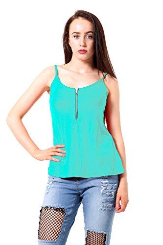 Elum® - Camiseta sin mangas - para mujer verde menta