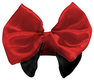 Platinum Pets Formal Dog Bow Tie and Collar, 10-11-Inch, Red