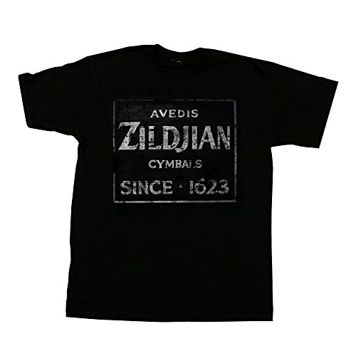 - Zildjian Quincy Vintage Sign Tee - X Large