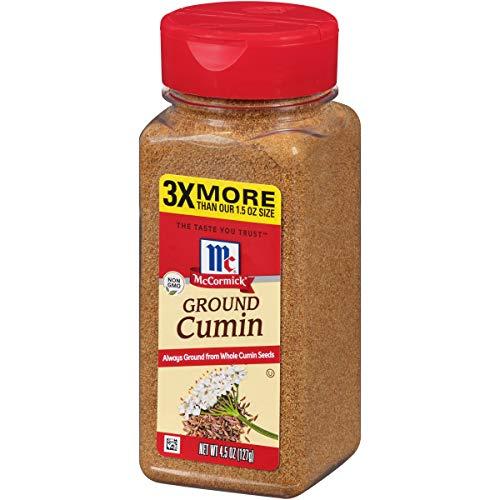 McCormick Ground Cumin, 4.5 - Powder Cumin Seed