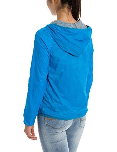 Bench Core Easy Windbreaker, Chaqueta Impermeable para Mujer Turquesa (Dark Turquoise Blue Tq038)
