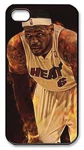 NBA Miami Heat #6 LeBron Raymone James Customizable iphone 4/4s Case by icasepersonalized