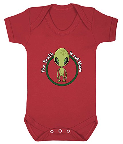 08f847fbbf3 Badass Babies The Truth Is Out There X-Files Alien Babygrow (3-6