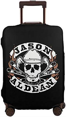 スーツケースカバー キャリーカバー ジェイソン アルディーン ラゲッジカバー トランクカバー 伸縮素材 かわいい 洗える トラベルダストカバー 荷物カバー 保護カバー 旅行 おしゃれ S M L XL 傷防止 防塵カバー 1枚
