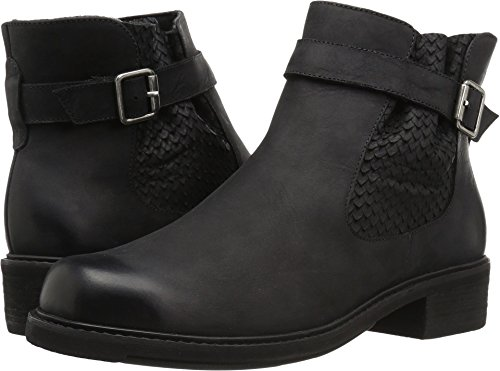 Cradles Leather Black Women's Walking Distressed dOq8dSpz