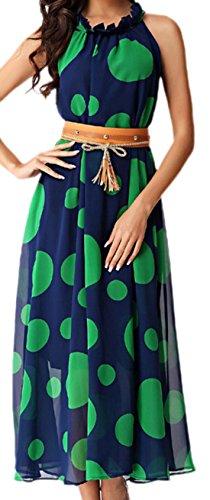 erdbeerloft - Vestido - Semitransparente - para mujer Azul