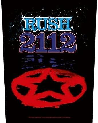 Rush Mens 2112 Back Patch Black