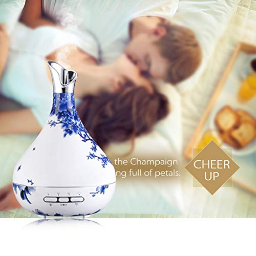 Price comparison product image Foreverharbor Mini Ultrasonic Aroma Essential Oil Diffuser Cool Mist Humidifier for Car Office Home Room Study Yoga Spa
