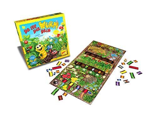 Zoch 601132100 Da ist der Wurm drin, Kinderspiel 2011, kinderleichtes und gewitztes Würfel-und Beobachtungsspiel, ab 4 Jahren 4