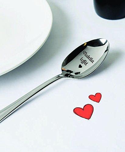 Grav ID?E Regalo per Gli Amanti di Nutella Nutella Lover Nutella L?ffel Regalo di Meno di 10? su Lingua Tedesca
