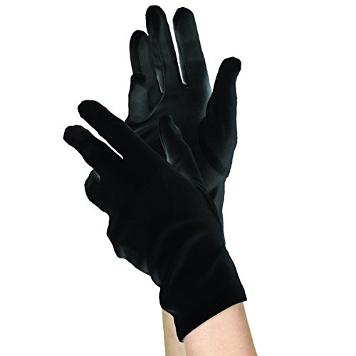 amscan Black Gloves - Child]()