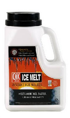 Ice Melter Milazzo (Qik Joe Ice Melter Jug Calcium Chloride Pellets Down To - 25 F Shaker Bottle 9 Lbs.)