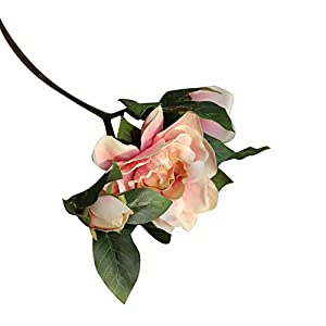 eroute66 1Pc Artificial Fake Camellia Simulation Flower Wedding Party Home Decoration - Light Pink 54