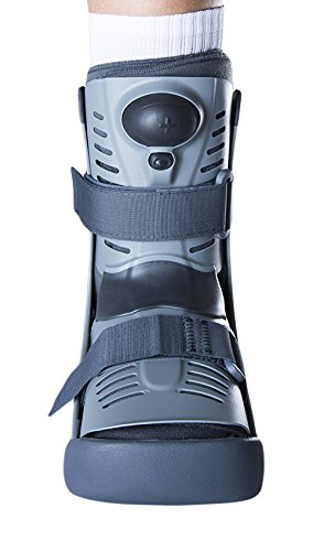 Ossur Rebound Air Walker Boot Low Top - Medium - with Compression Adjustable Comfortable Straps and Air Pump Rocker Bottom Ventilated Panels for Ankle Sprains Fractures Tendon Ligament Post-Op Rehab by Ossur (Image #5)
