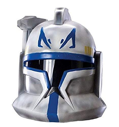 Clone Trooper 2 Piece Helmet - Rubies Star Wars Clone Wars Clonetrooper Rex Child's Mask (2-Piece)