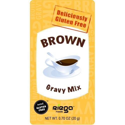 Riega Foods Brown Gravy Mix, 0.7 Ounce - 8 per case.