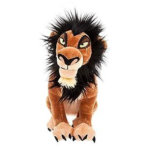 "Disney Scar Plush – The Lion King – Medium – 14"""