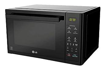 LG MJ3294BAB Microondas, Capacidad 32 l, tecnología Lightwave, 900 W, 32 litros, Negro