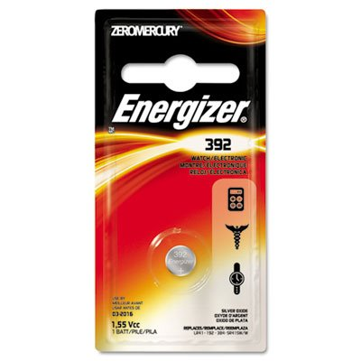Watch Battery 392bp Energizer (Watch/Electronic Battery, SilvOx, 392, 1.5V, MercFree)