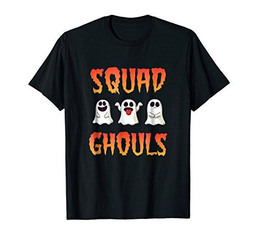 Ghoul Squad Funny Ghost Halloween Costume Party Shirt