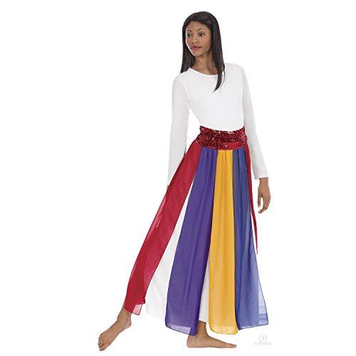 - Eurotard Womens Streamer Skirt (39808) -Multi -OSFA