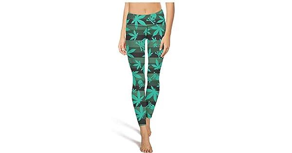 Amazon.com: NCDKS Cannabis - Pantalón de ciclismo y yoga ...