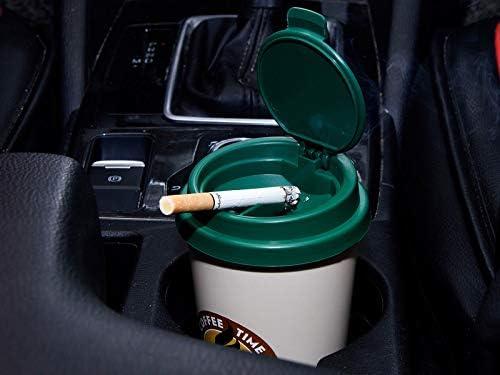 2 unidades de ceniceros para coche con aspecto de caf/é para llevar