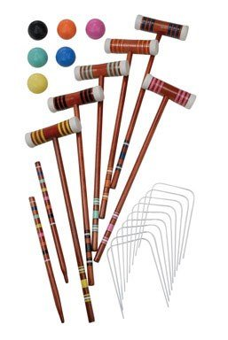 CROQUET SET HALEX SELECT by HALEX MfrPartNo 40-20434 by Halex