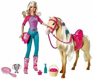 Amazon.es: V5721 Mattel - Barbie & Doll Tawny con el