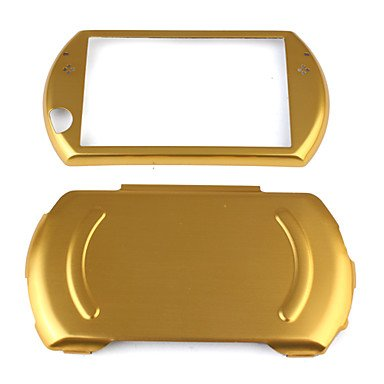 NEW-Light Aluminum Case Shell for Sony PSP Go - Go Gold Case Psp