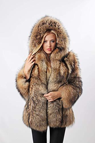 Real fur Fur coat for women