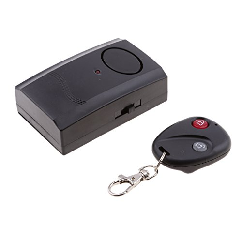 Dovewill Wireless Remote Control Bike Bicycle Alarm Shock Vibration Sensor Cycling Lock Guard Burglar Alarm