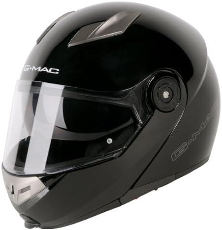 Viper RSV445 Flip up Front Motorbike Motorcycle Helmet Pinlock Ready Black XS 53-54cm