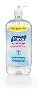 Purell Advanced Hand Sanitizer Gel Refreshing Fragrance 1 Liter