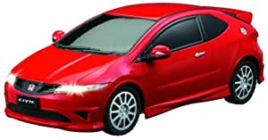 Honda Civic Type R 1:28 De Coches De Escala (Rojo)