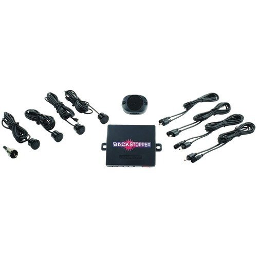 Sensor Crime Stopper - Crimestopper CA-5009.II.MBS Backstopper (TM) Rear Parking-Assist System with Audible Alert & Metal Sensors