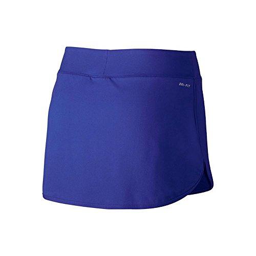 Nike Tennis Pure Dames Tennis Rok Hoofdkleur Blauw / Wit