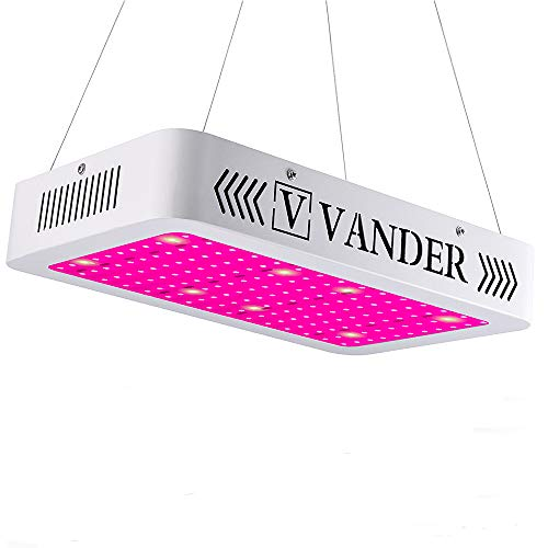 Vander 2000W Led Grow Light for Indoor Plants Veg and Flower with Full Spectrum UV&IR